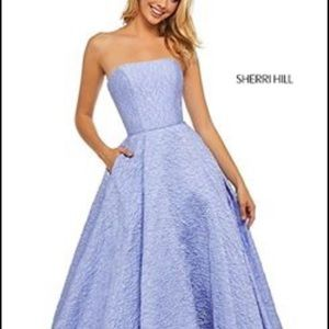 Sherri Hill, textures, A-line dress